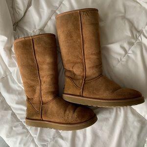 Chestnut Tall Ugg Boots Classic Tall II Boot